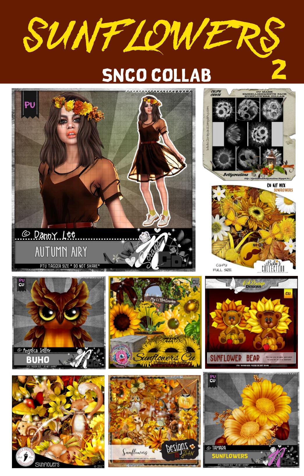 SUNFLOWERS COLLAB PART 2