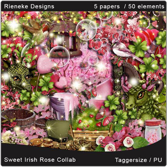 SWEET IRISH ROSE COLLAB KIT