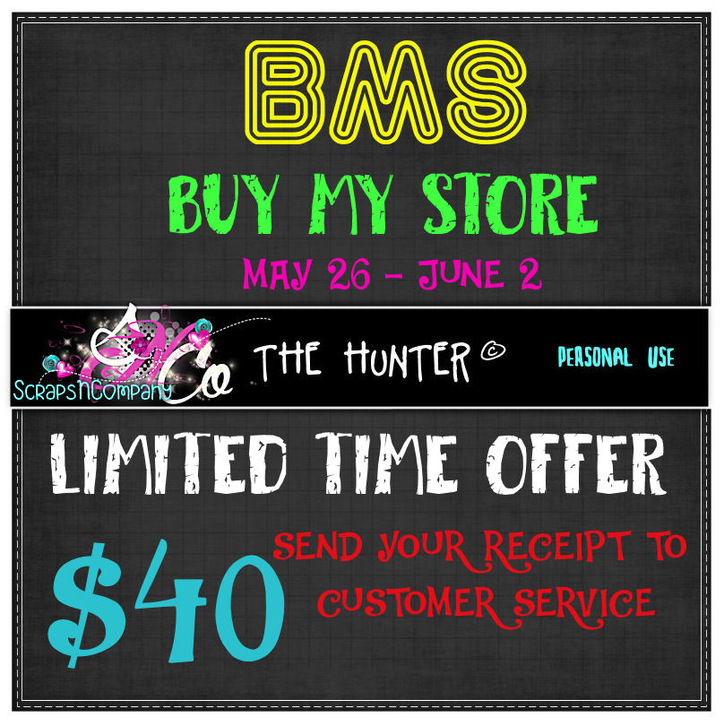 !!BMS THE HUNTER LIMITED TIME $40