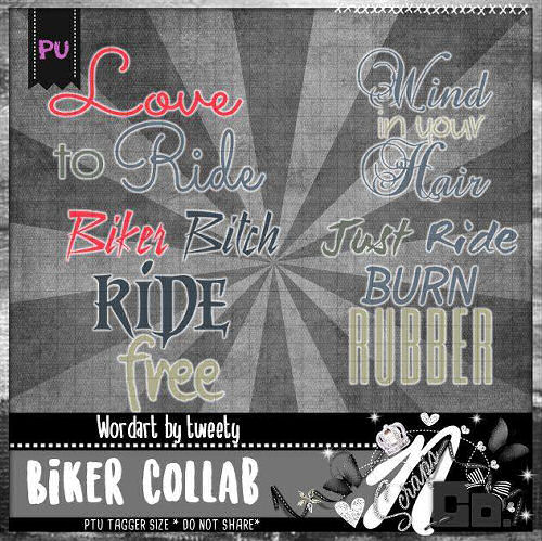 BIKERS COLLAB ALPHA BY TWEETY