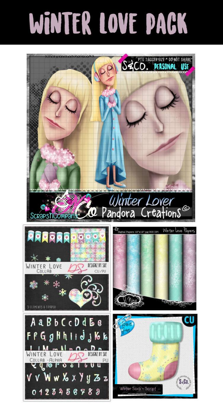 WINTER LOVE COLLAB PACK