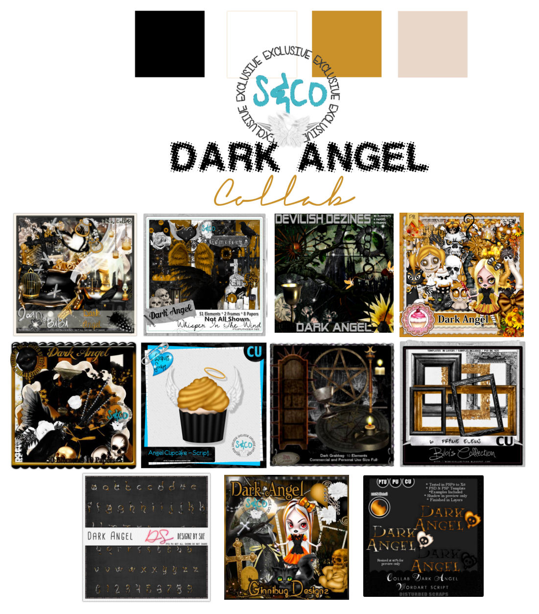 DARK ANGEL COLLAB