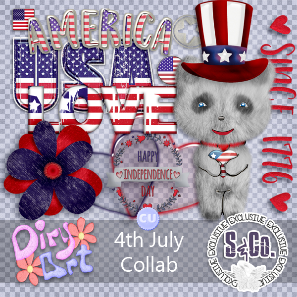 CELEBRATION JULY 4TH COLLAB CU PACK