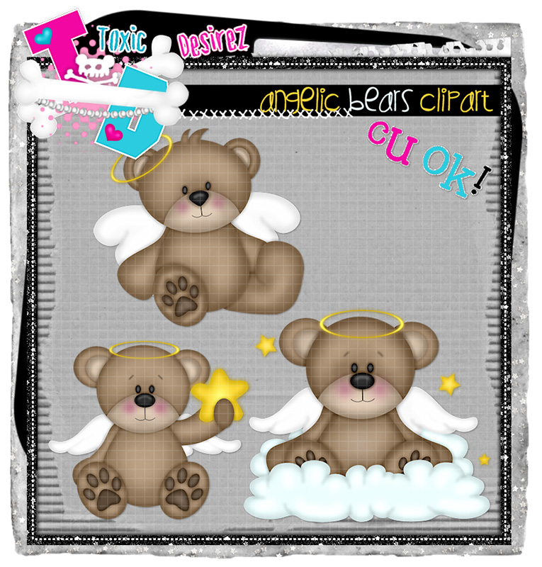 CU Angelic Brears Clipart EXCLUSIVE