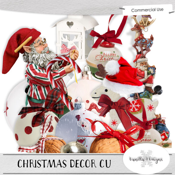 Christmas decor CU