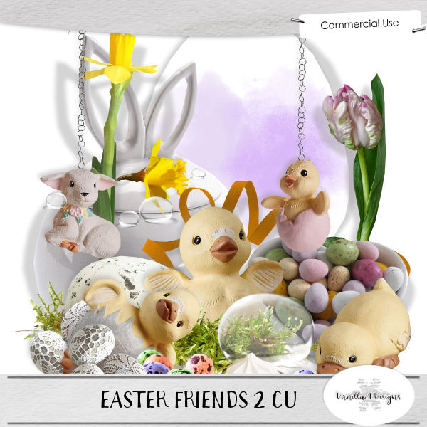Easter friends 2 CU