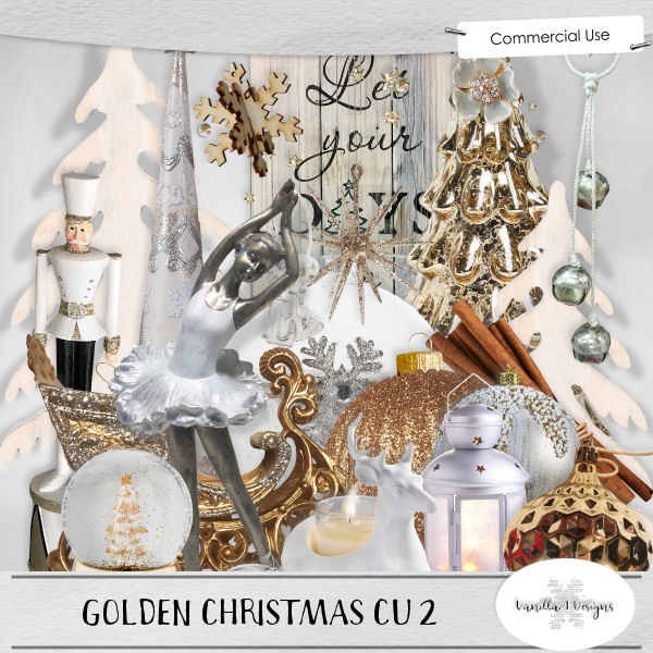 Golden Christmas CU 2