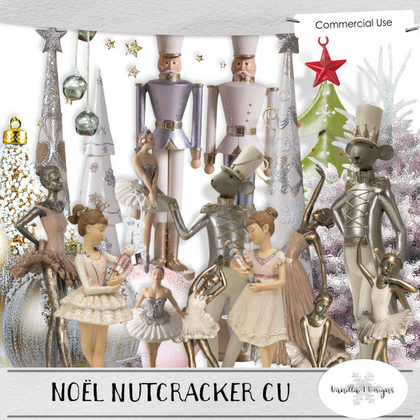 Noel nutcracker CU by VanillaM Designs