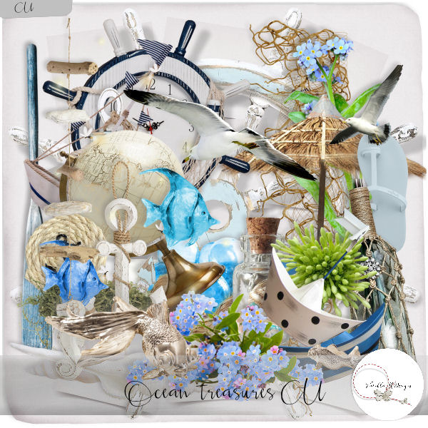 Ocean treasures elements CU