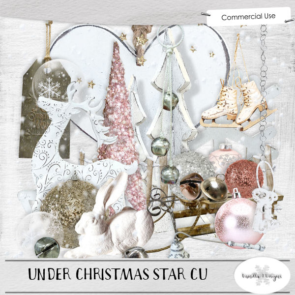 Under Christmas star bundle CU