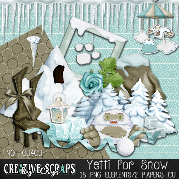 Yeti For Snow CU