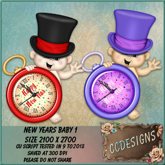 New Years Baby 1 (FS/CU/PSP SCRIPT)