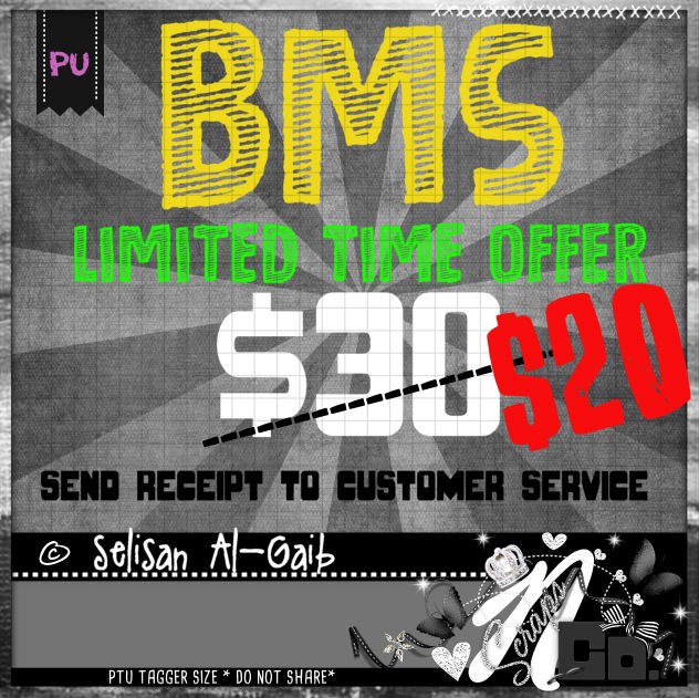 !BMS 2017 SELLISAN - LIMITED TIME