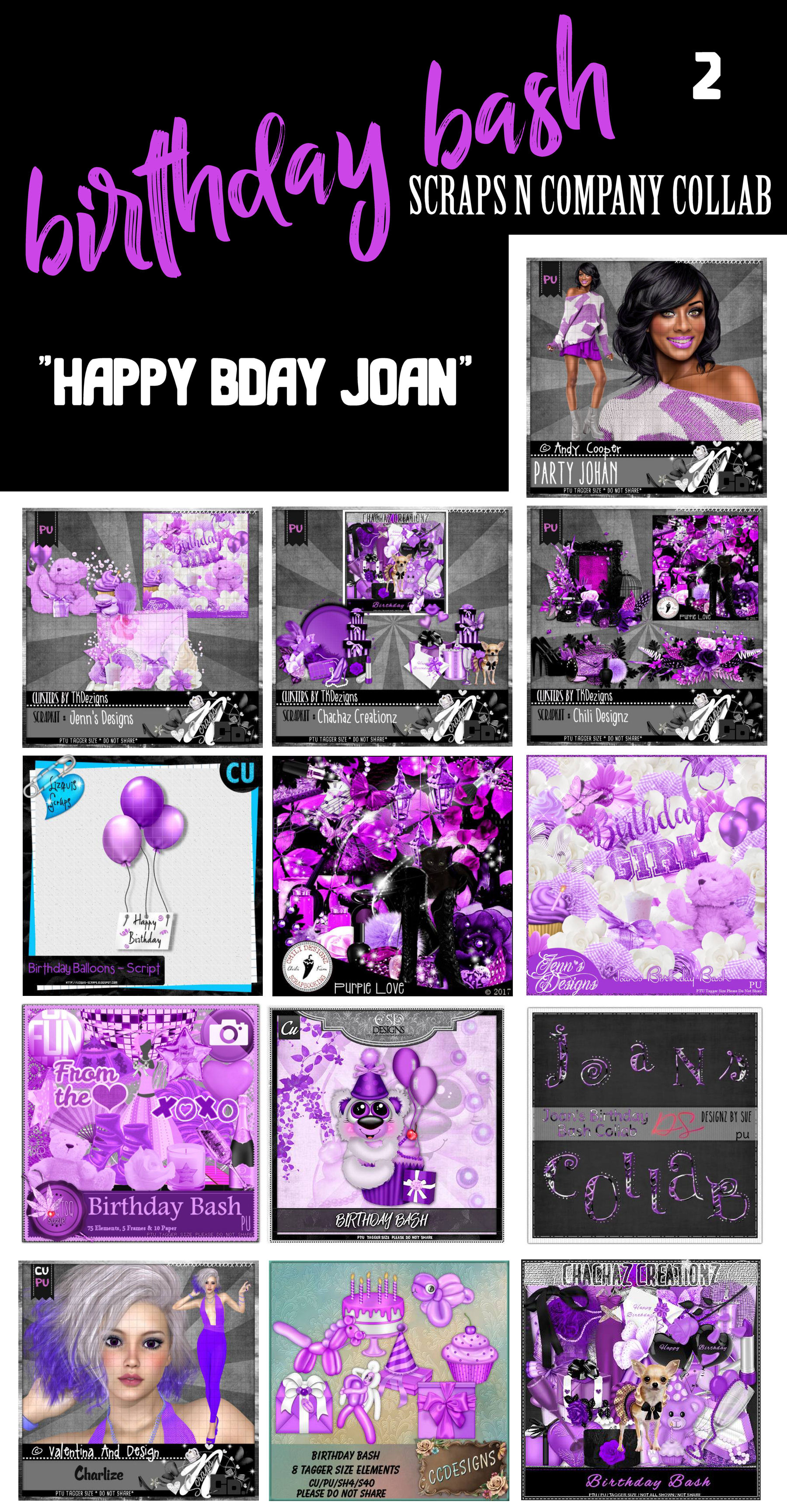 JOANS COLLAB BDAY BASH 2