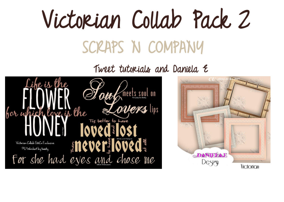 VICTORIAN COLLAB PACK 2