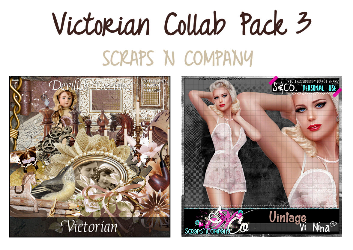 VICTORIAN COLLAB PACK 3