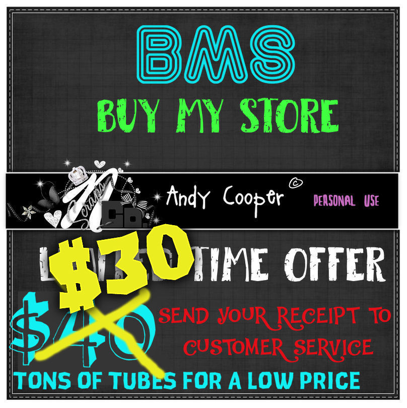 ! LIMITED TIME BMS OFFER ANDY COOPER